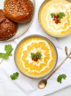 Pastinaak wortel soep