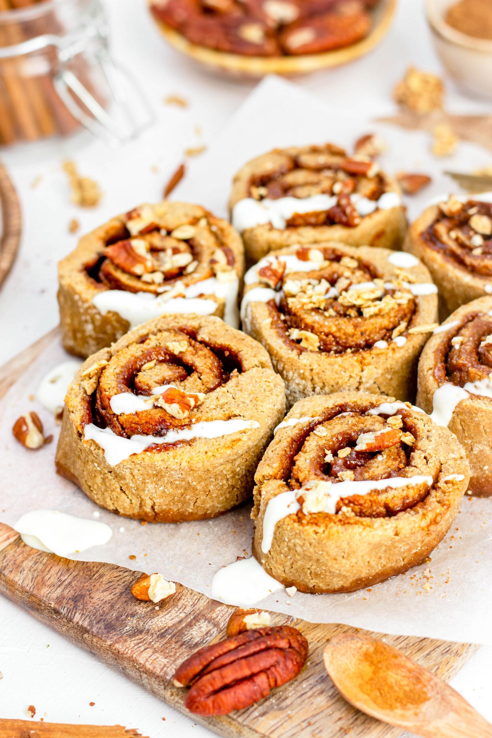Gezonde cinnamon rolls