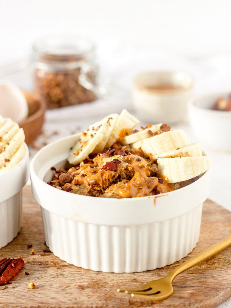 glutenvrije pindakaas ontbijttaartjes
