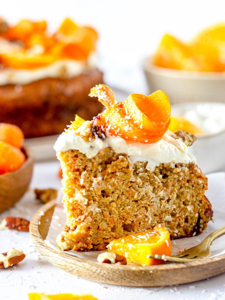 Allerlekkerste gezonde carrot cake