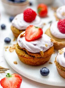 Gezonde bananenbrood muffins