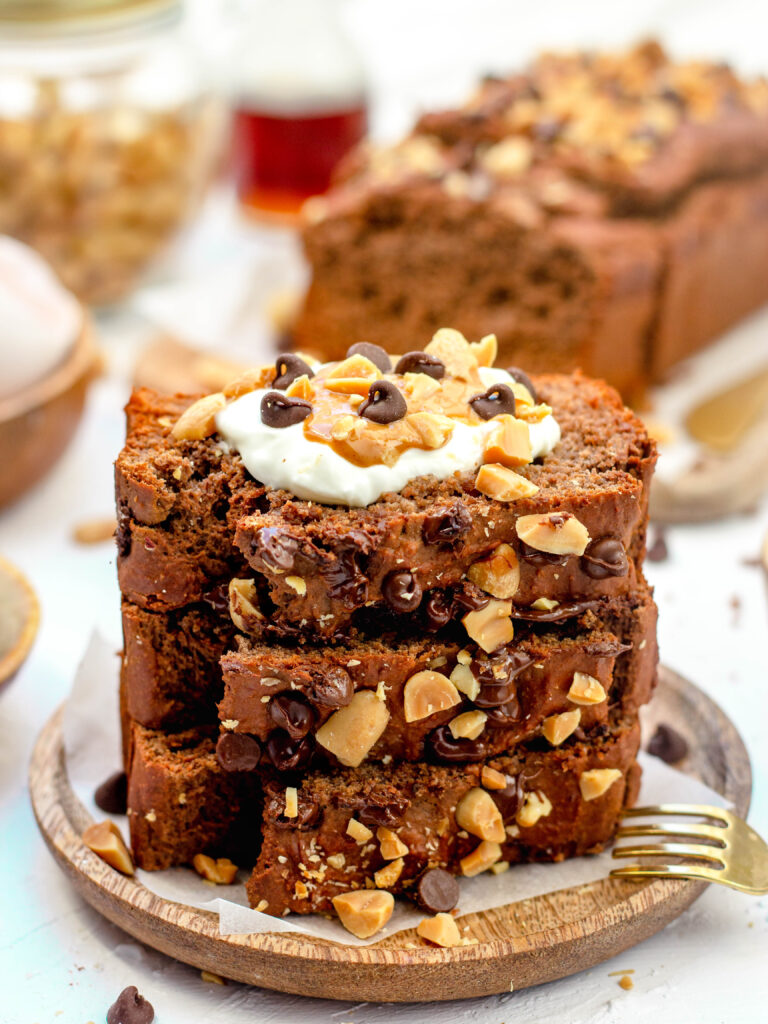Gezonde snickers chocolade cake