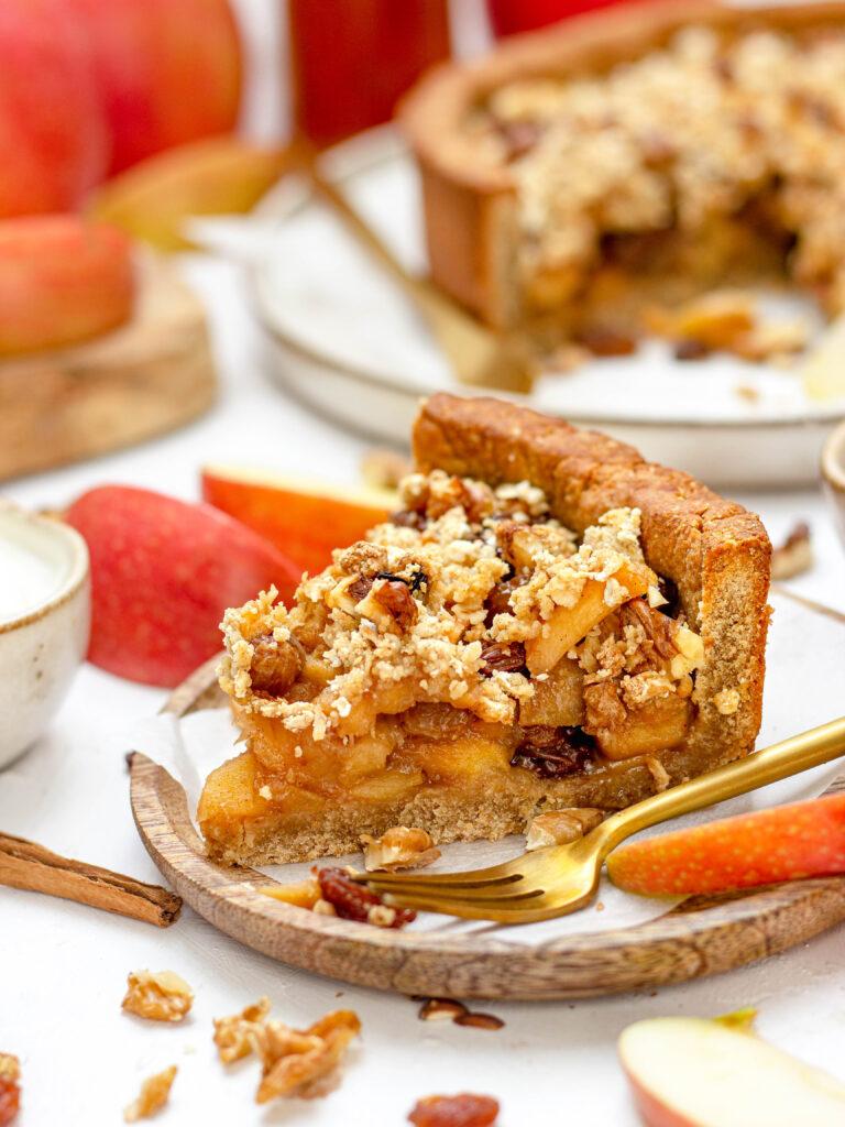 Allerlekkerste gezonde appeltaart