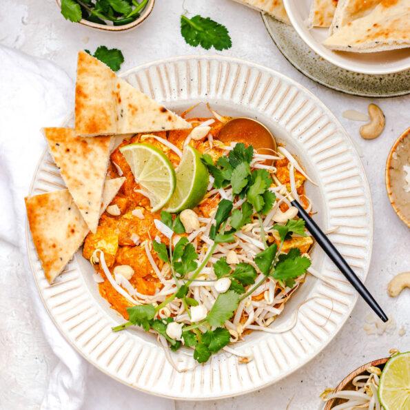 Pompoen curry met tofu