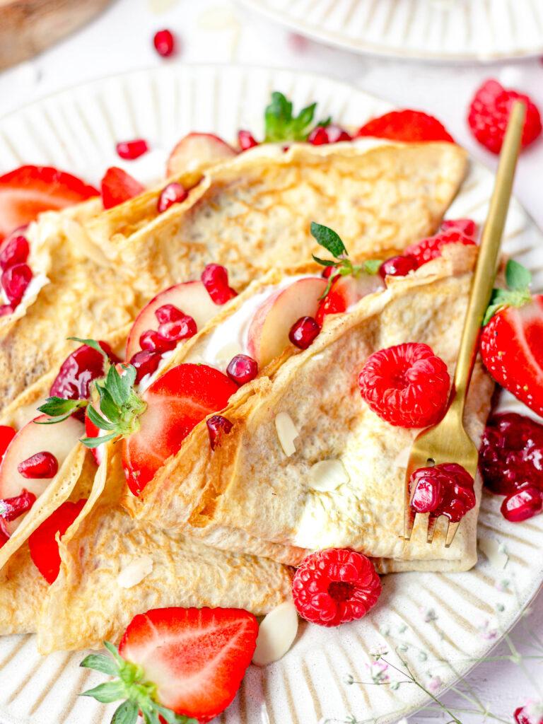 gezonde glutenvrije crêpes